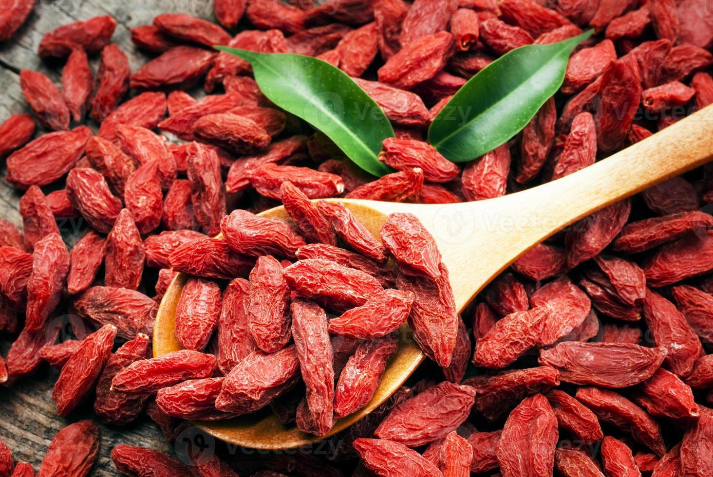 droge rode gojibessen voor een gezond dieet foto