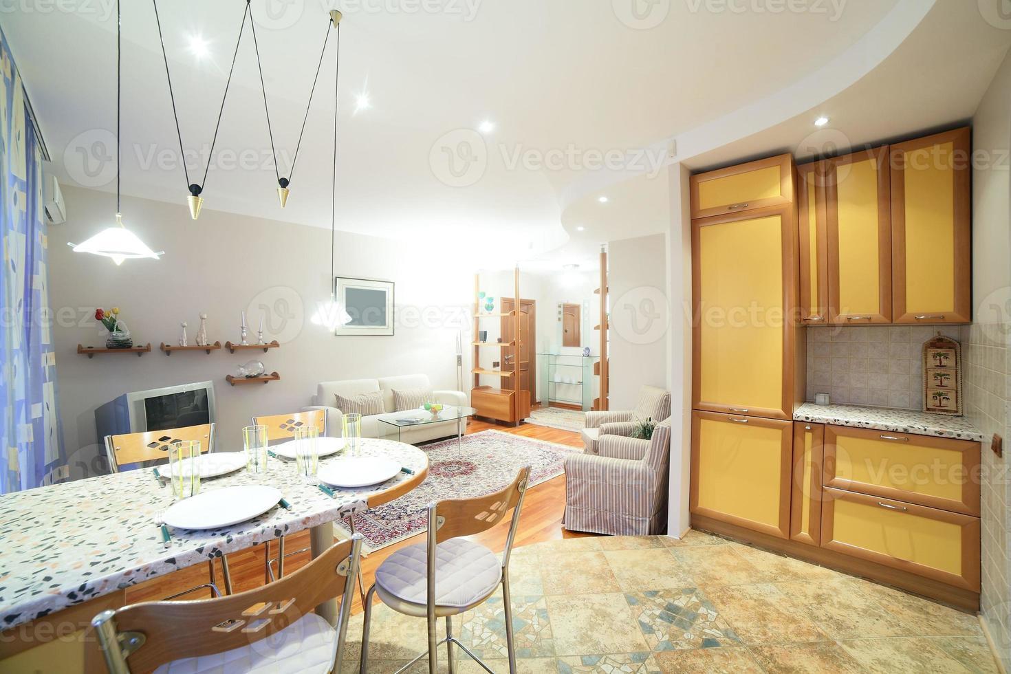 licht interieur van woonkamer foto