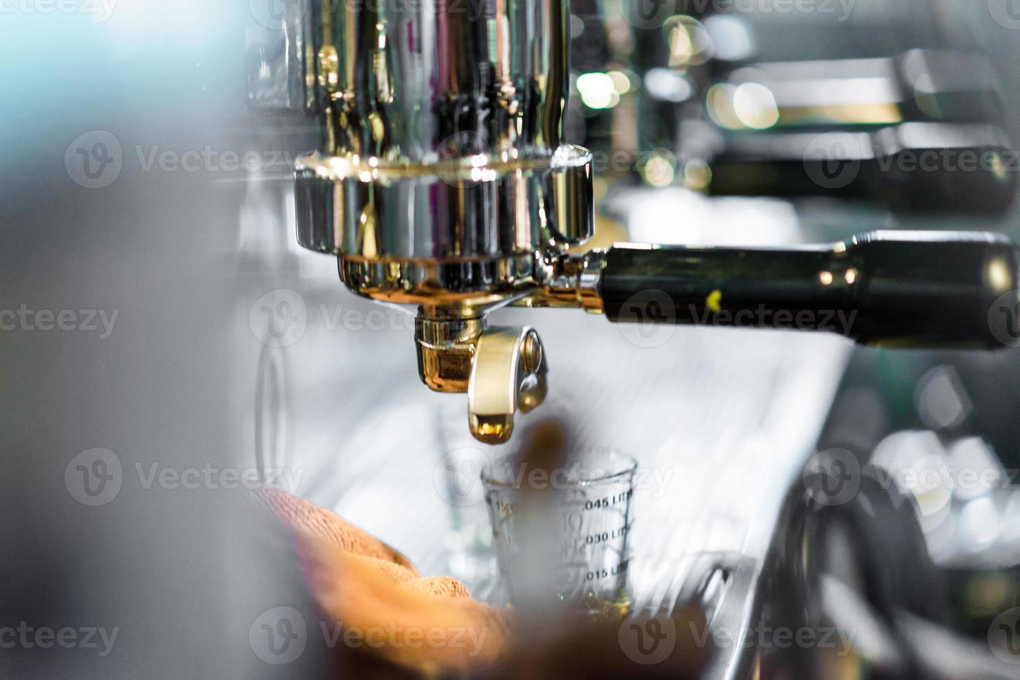 professional van espressomachine foto