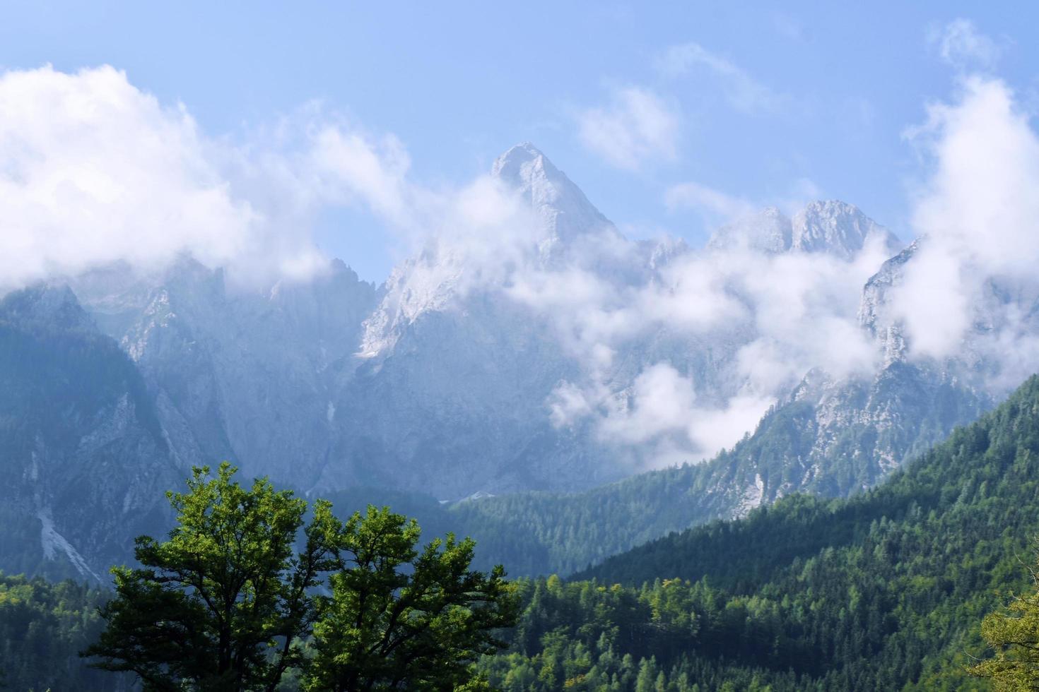 alpine berglandschap foto