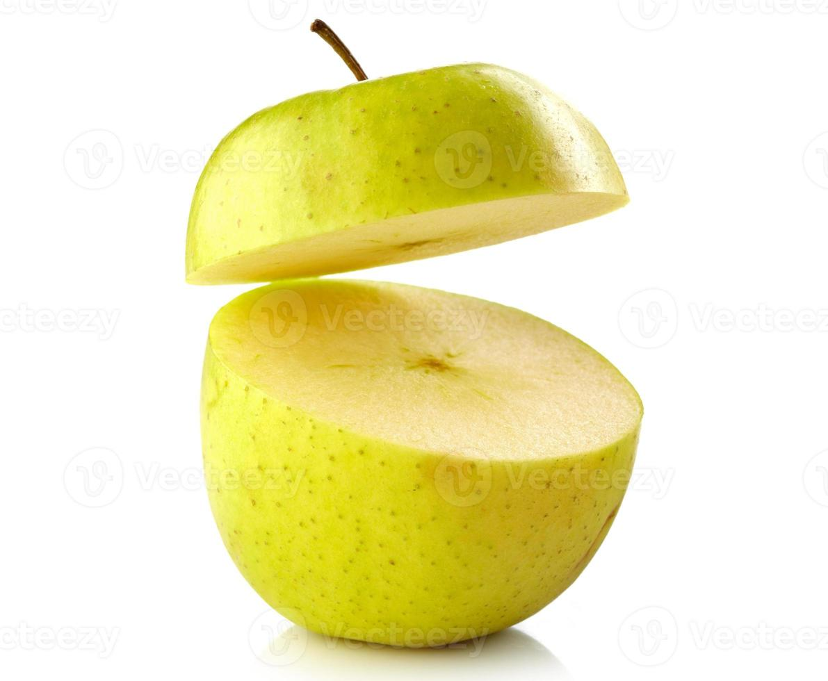 halve appel foto