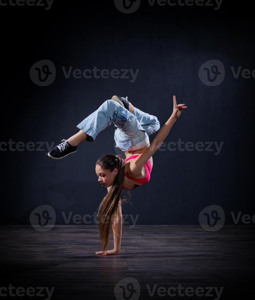 modern danseres meisje (normaal ver) foto