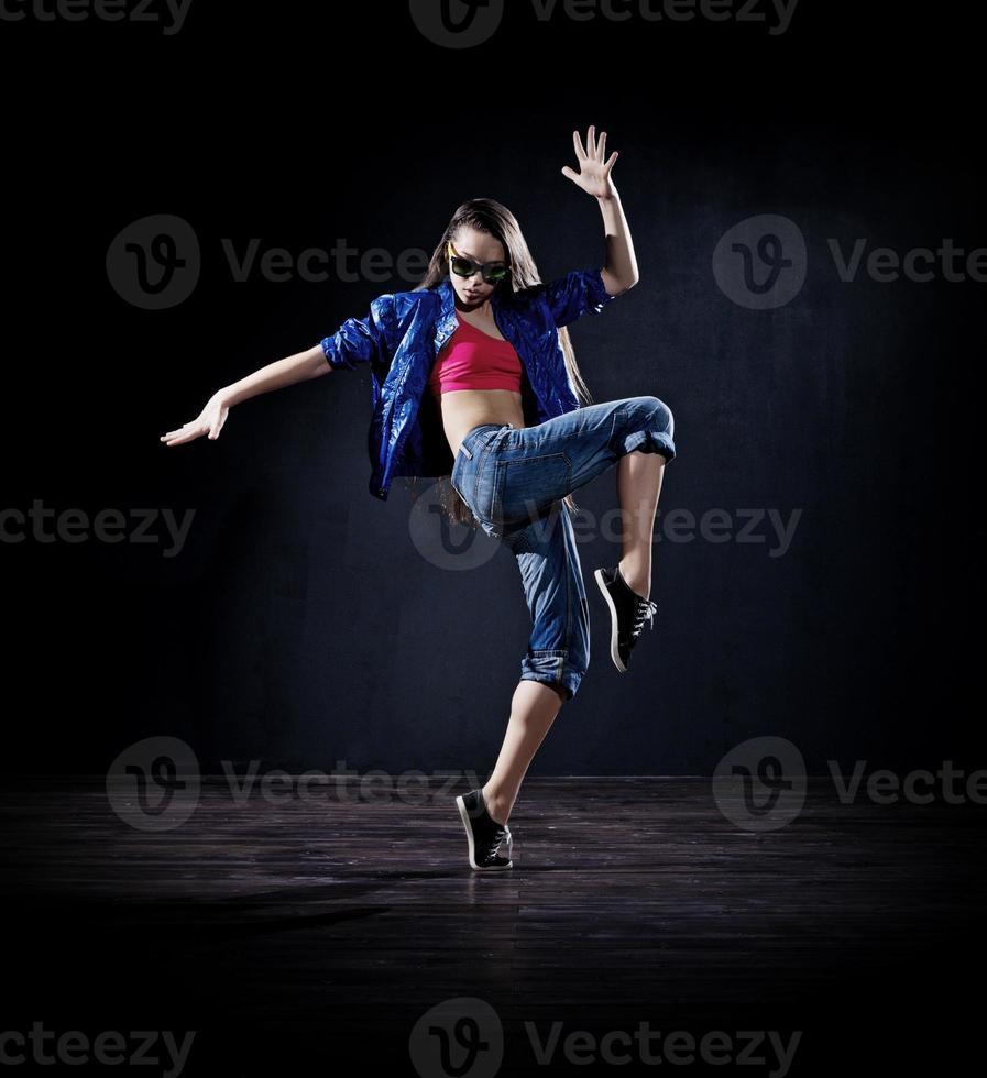 moderne danseres (donkere versie) foto