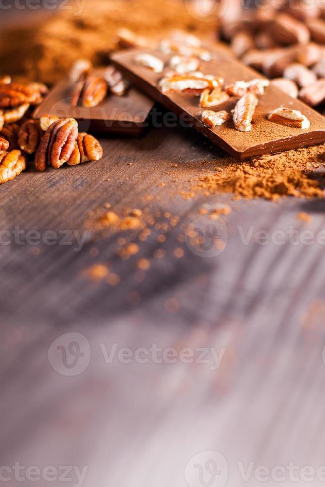 chocoladeproducten. foto
