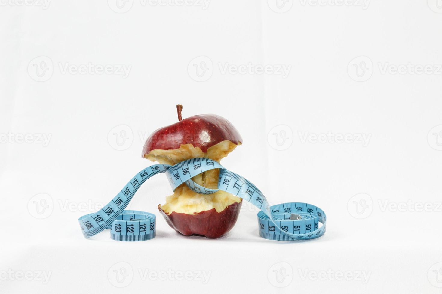 Apple liniaal meting vergelijking. foto