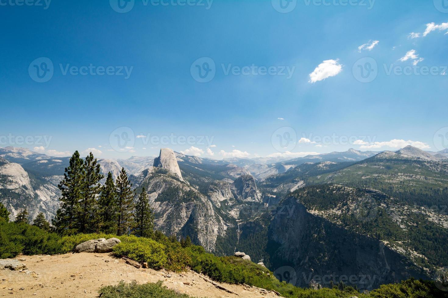 Yosemite National Park, Californië, VS. foto