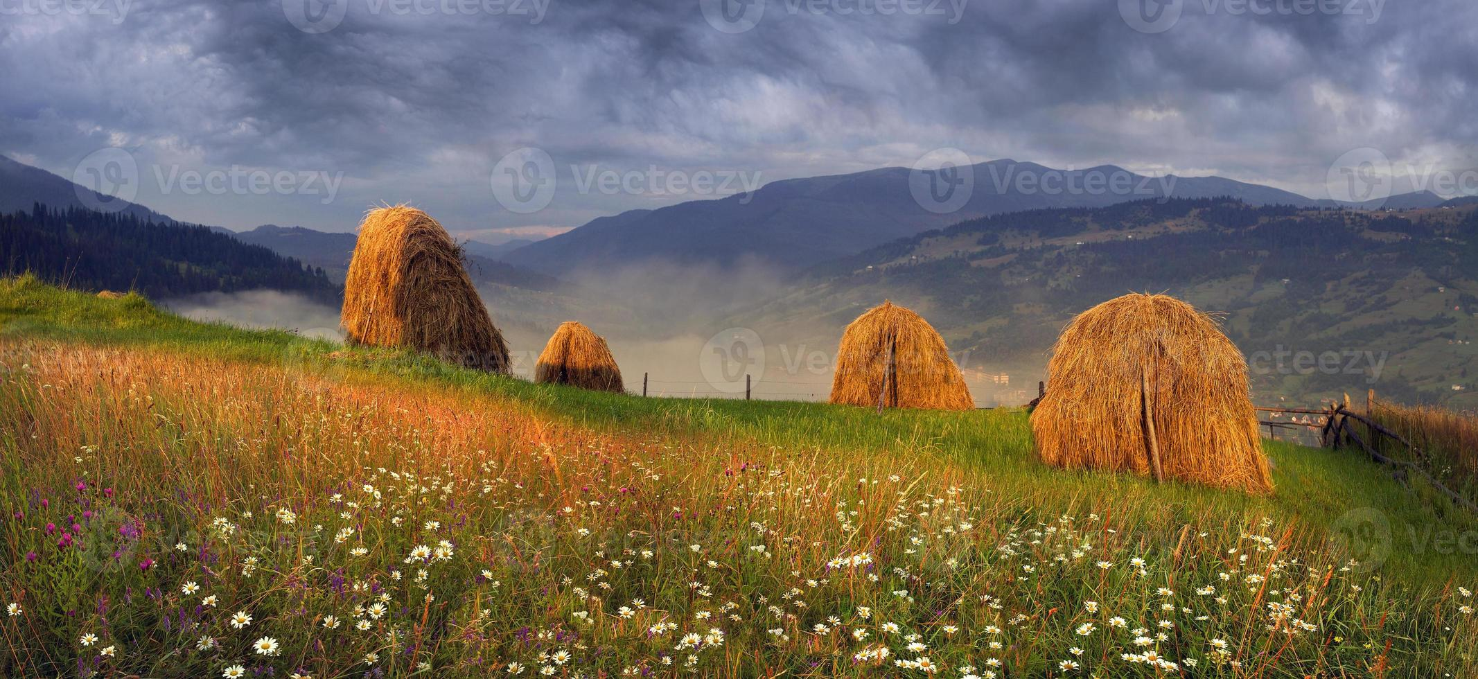 alpine zelfvoorzienende landbouw foto