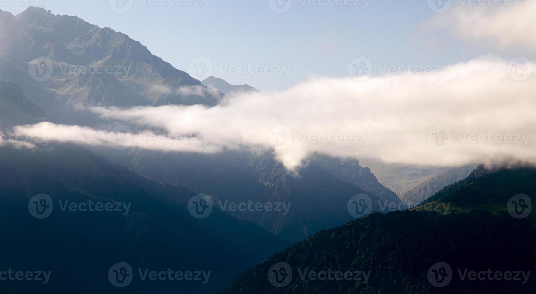 bergtoppen foto