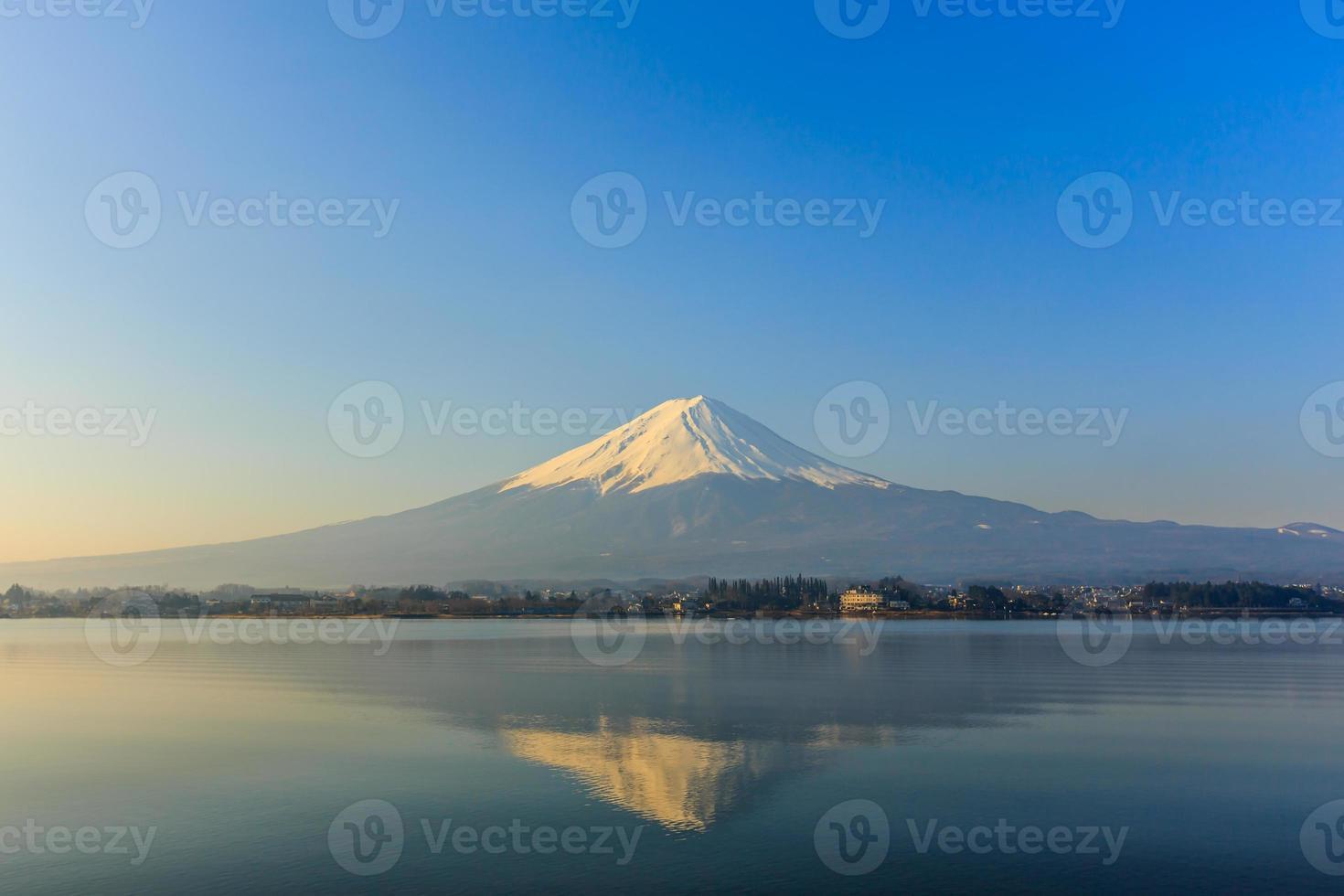 fuji-berg, kawaguchiko, japan foto