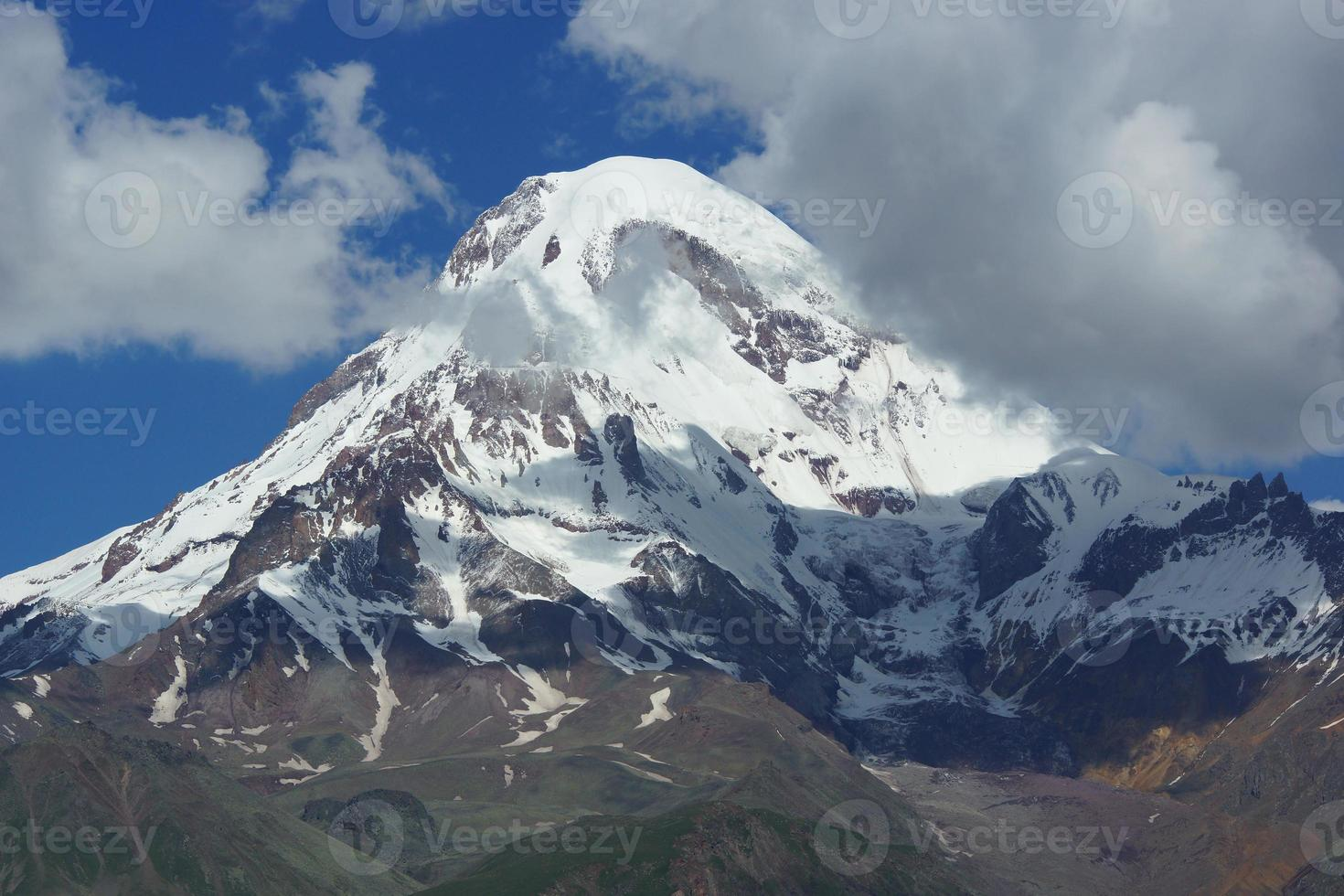 Mount Kazbek, Georgië, Europa foto
