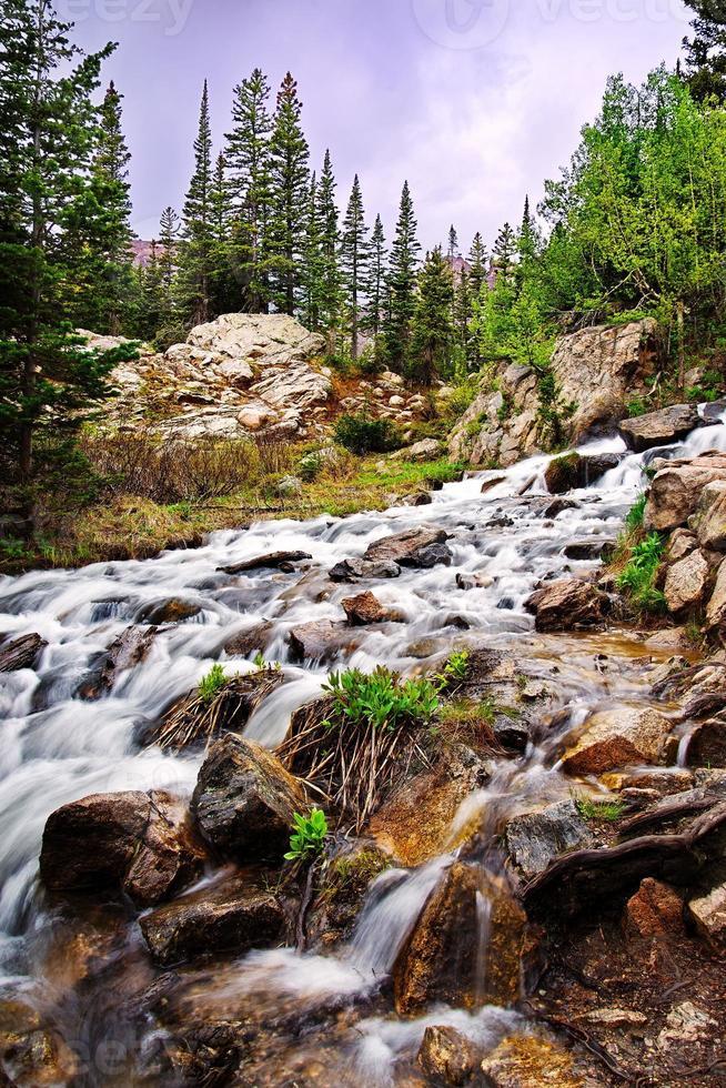 nationaal park rocky mountain foto