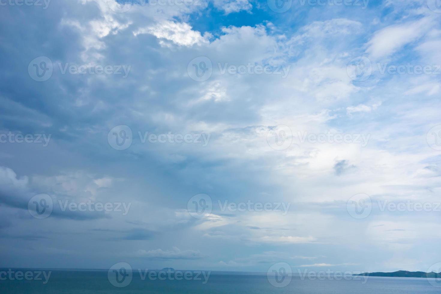 regenachtige lucht foto
