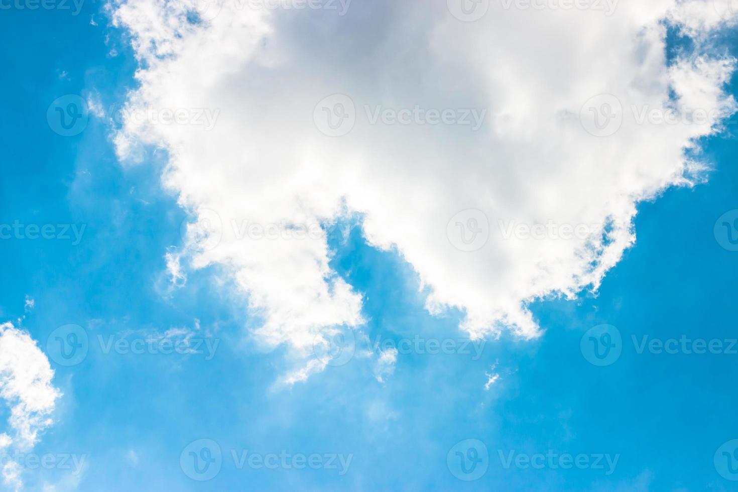 bule hemelachtergrond foto
