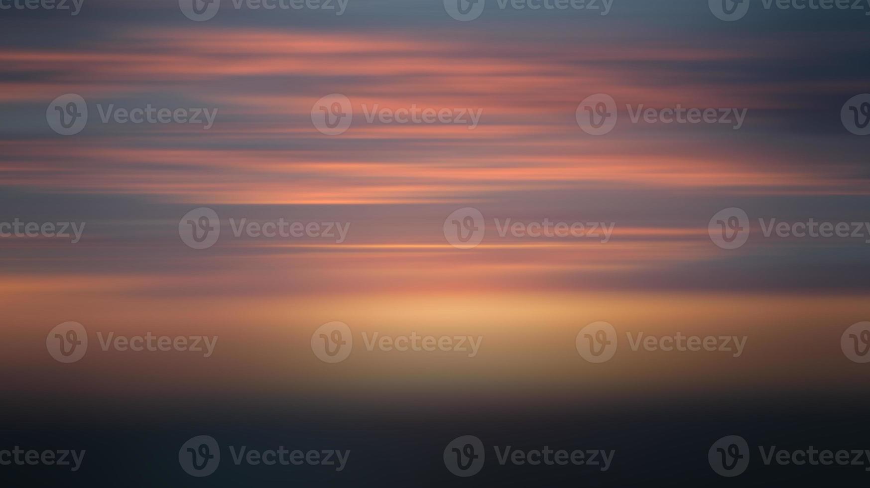 verloop vervagen van zonsondergang hemel illustratie foto