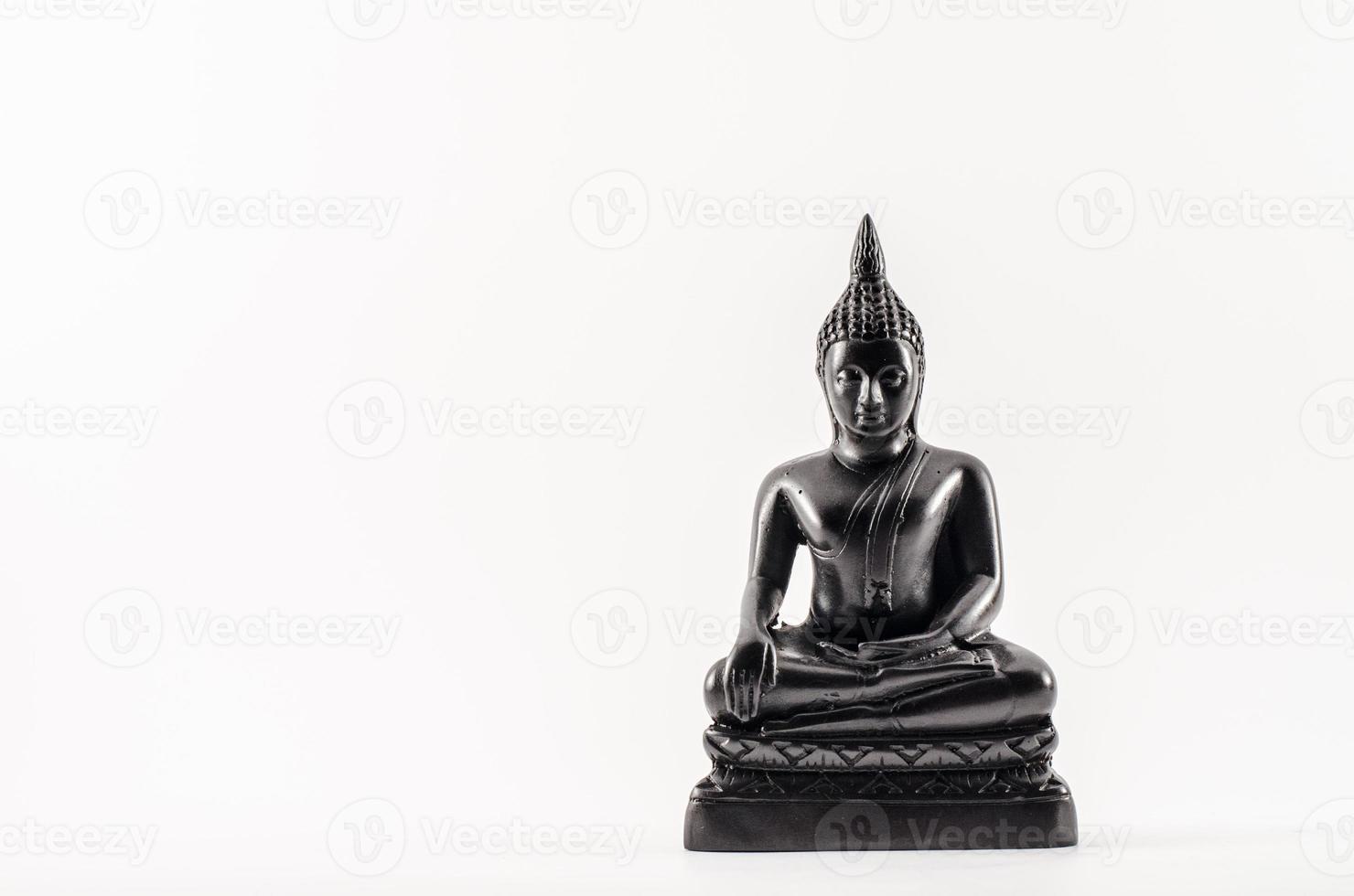 zittende boeddha foto