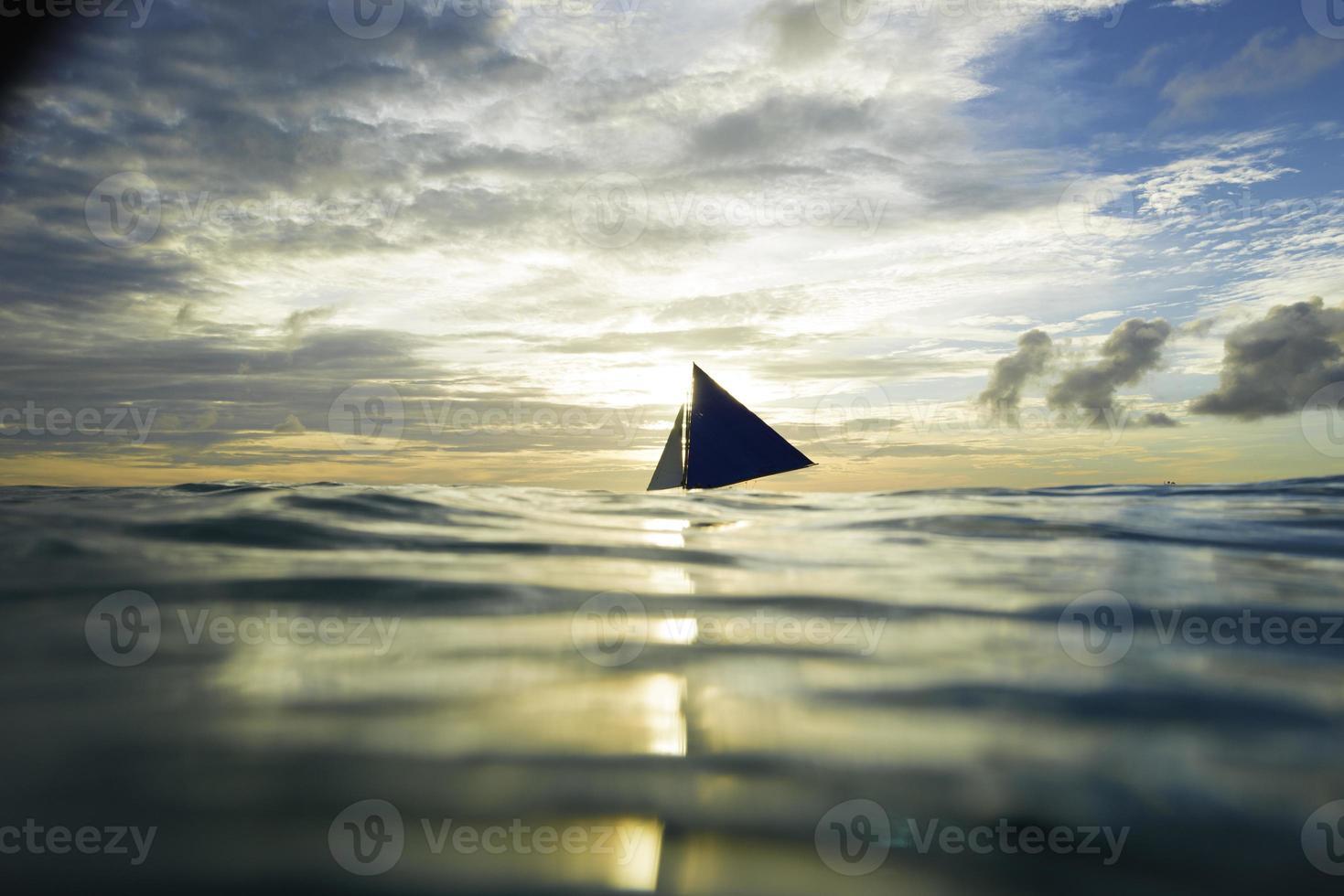 zeilboot, zee foto