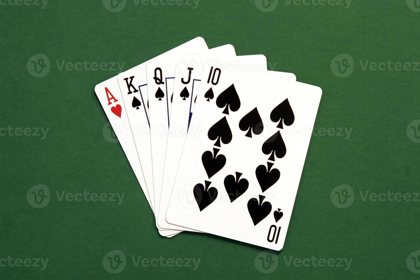 pokerhand foto