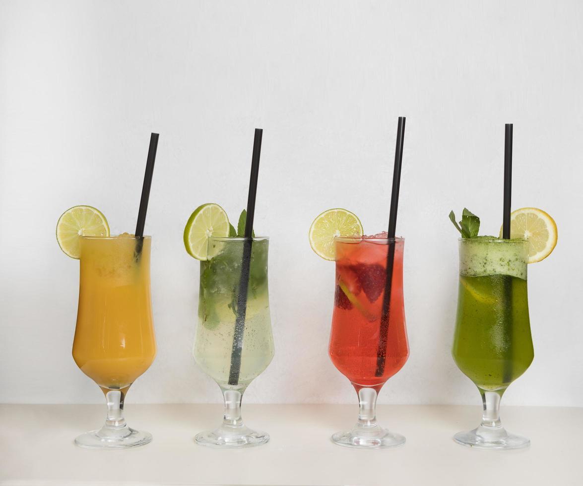 vruchtensap cocktails foto