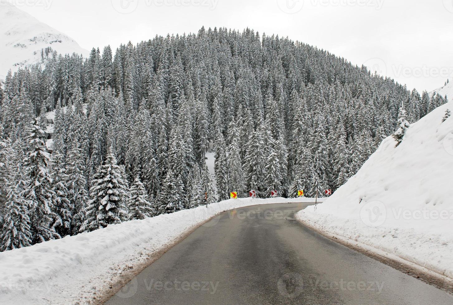 mountin road, oostenrijk foto