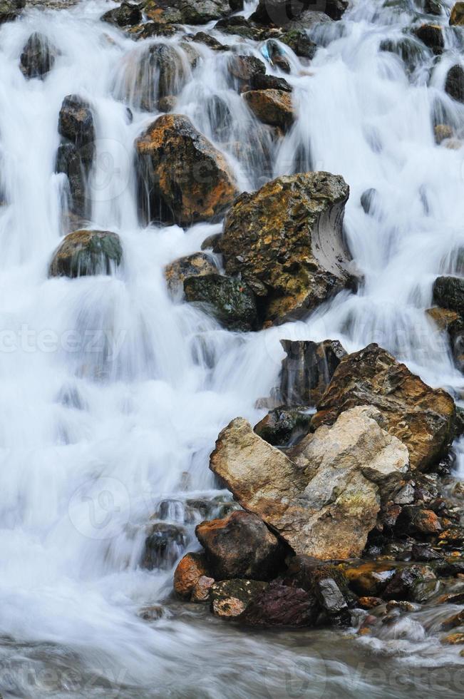 trapsgewijs water foto