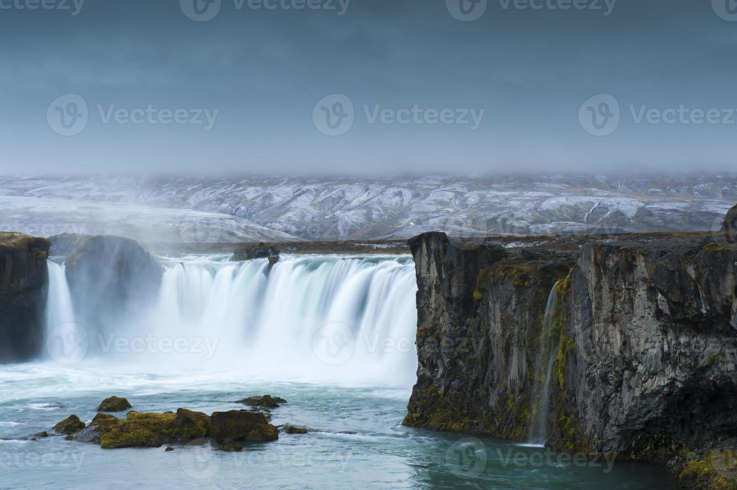 godafoss, noordelijk ijsland foto