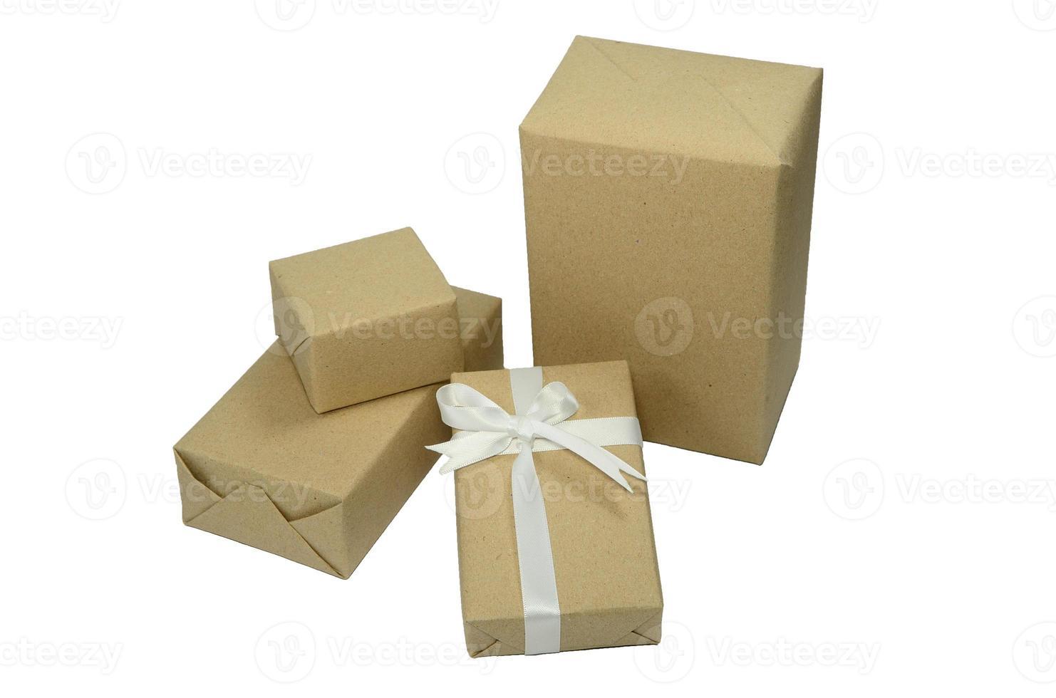 bruine dozen cadeau foto