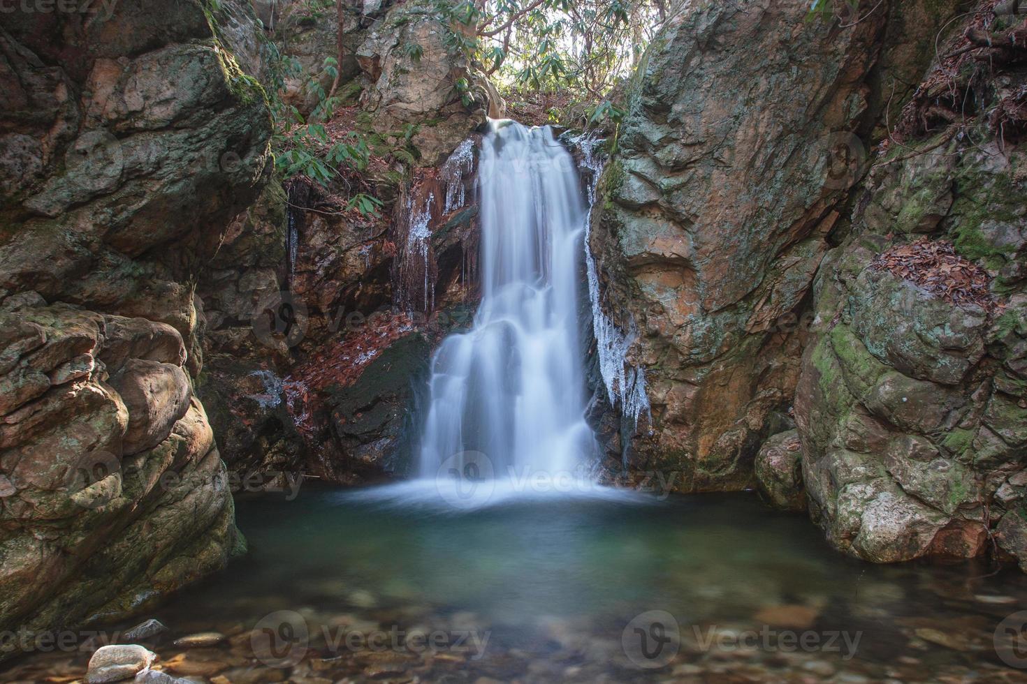 dick creek falls, oost tn foto