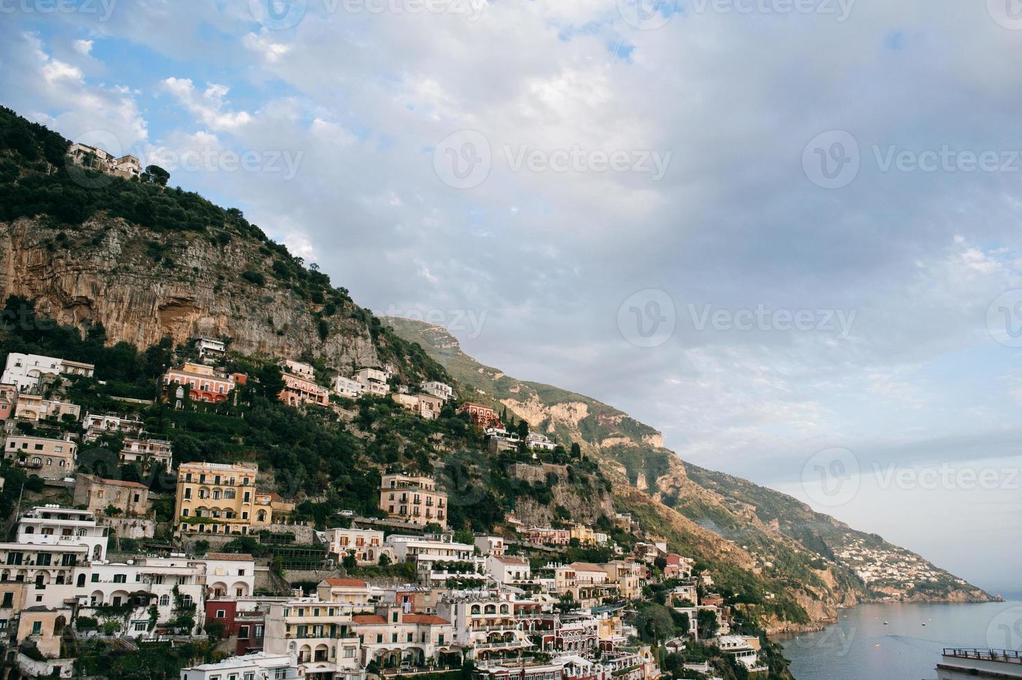positano, italië foto