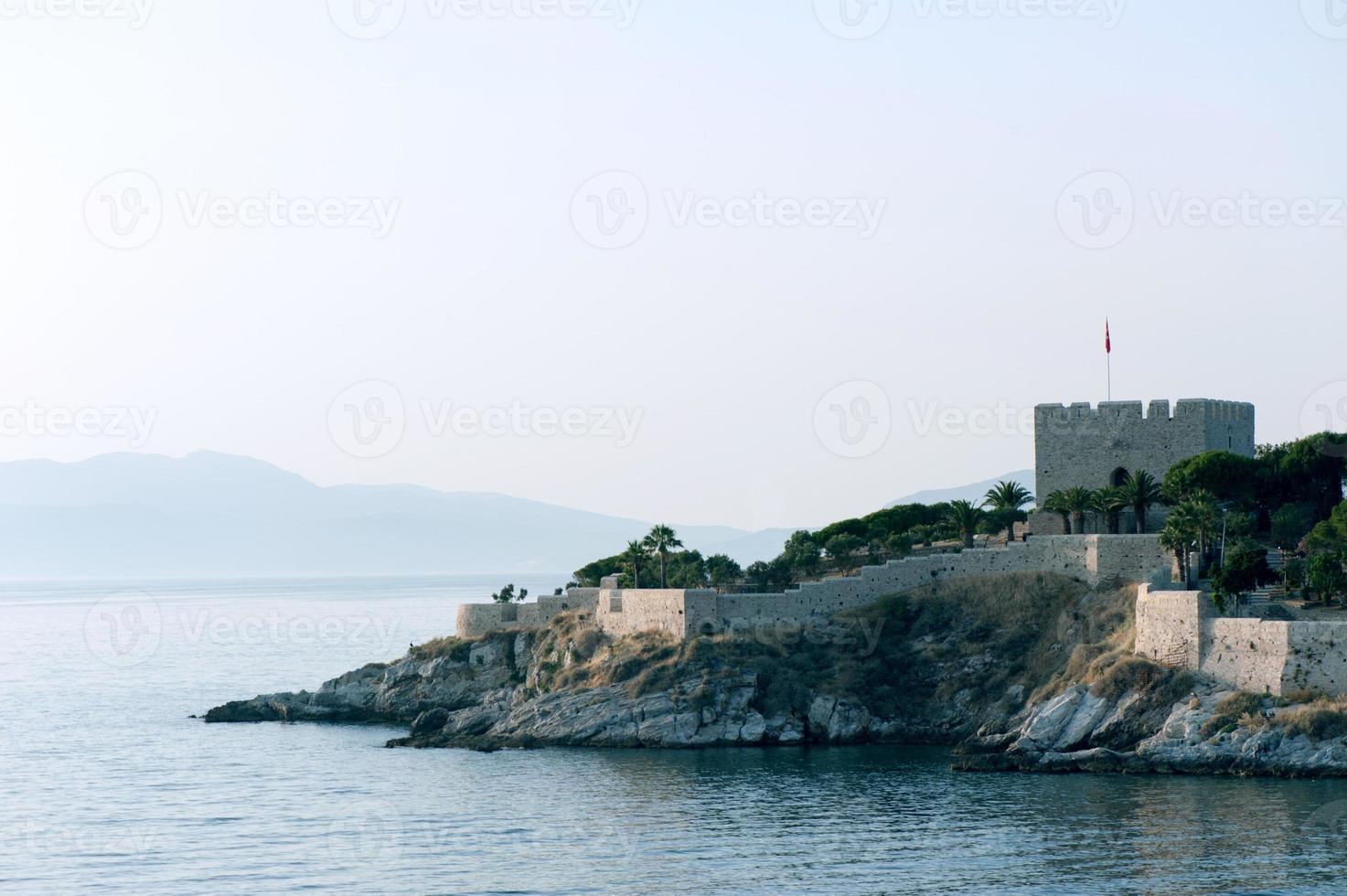 kasteel in kusadasi foto