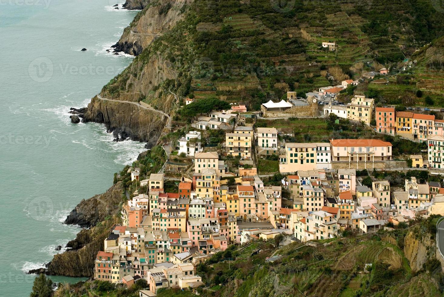 riomaggiore, Italië foto