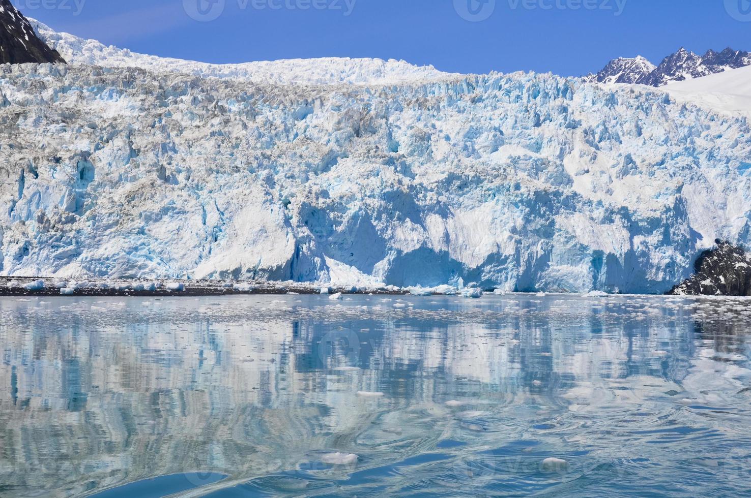 aialik gletsjer, kenai fjords national park (alaska) foto