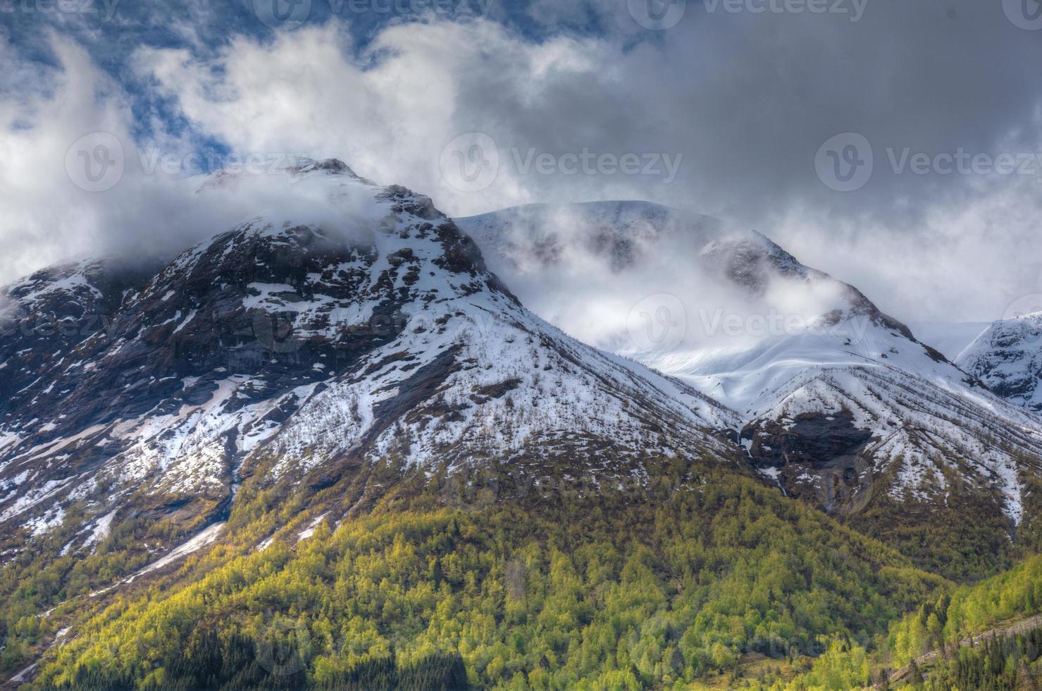 Noorse fjord foto