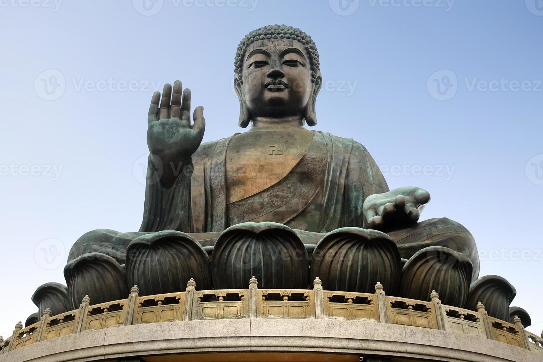 grote boeddha - hongkong foto