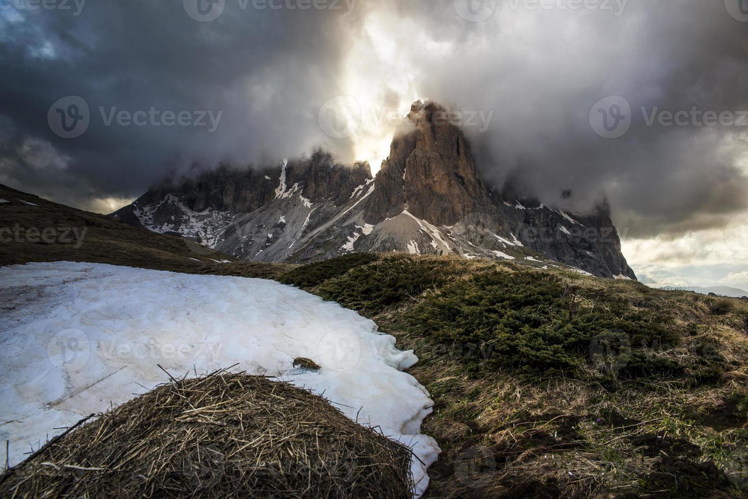 dolomiet alpen foto