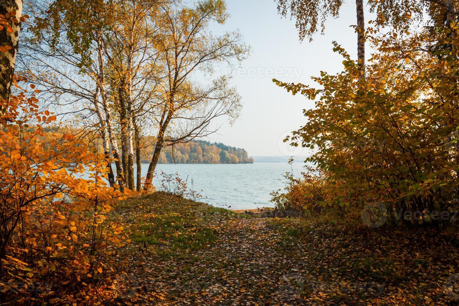 russische herfst foto