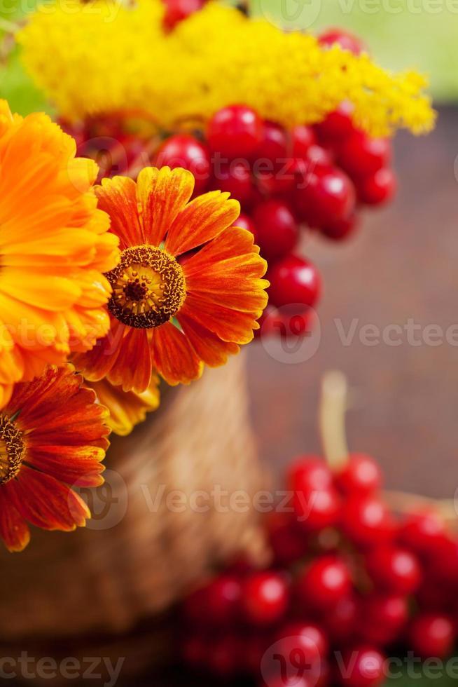 herfst boeket foto