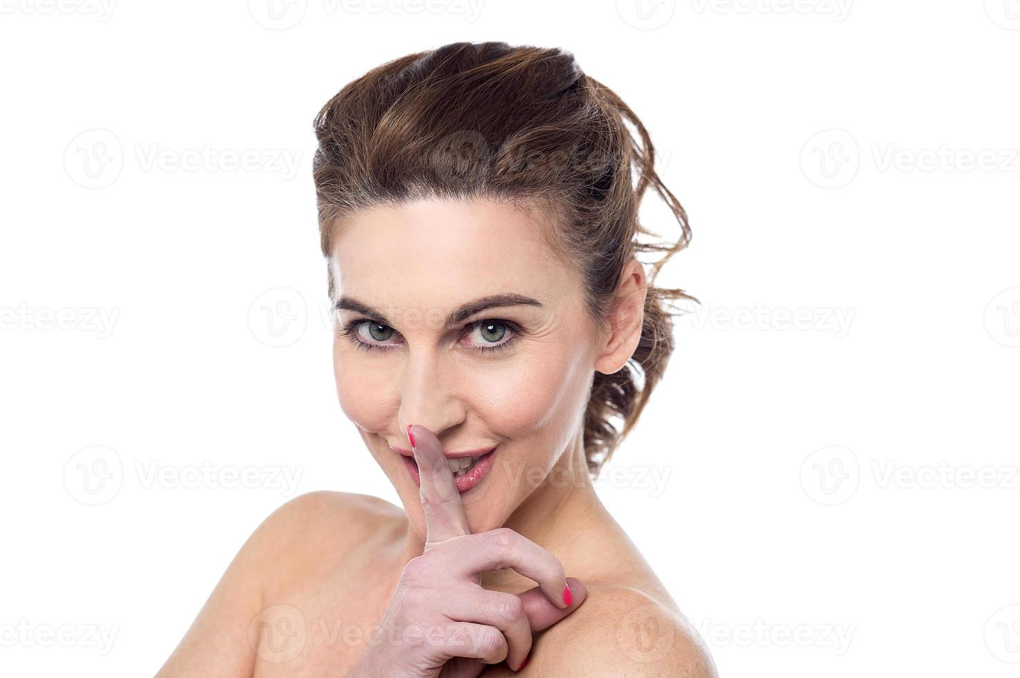 shhh, stilte alstublieft foto