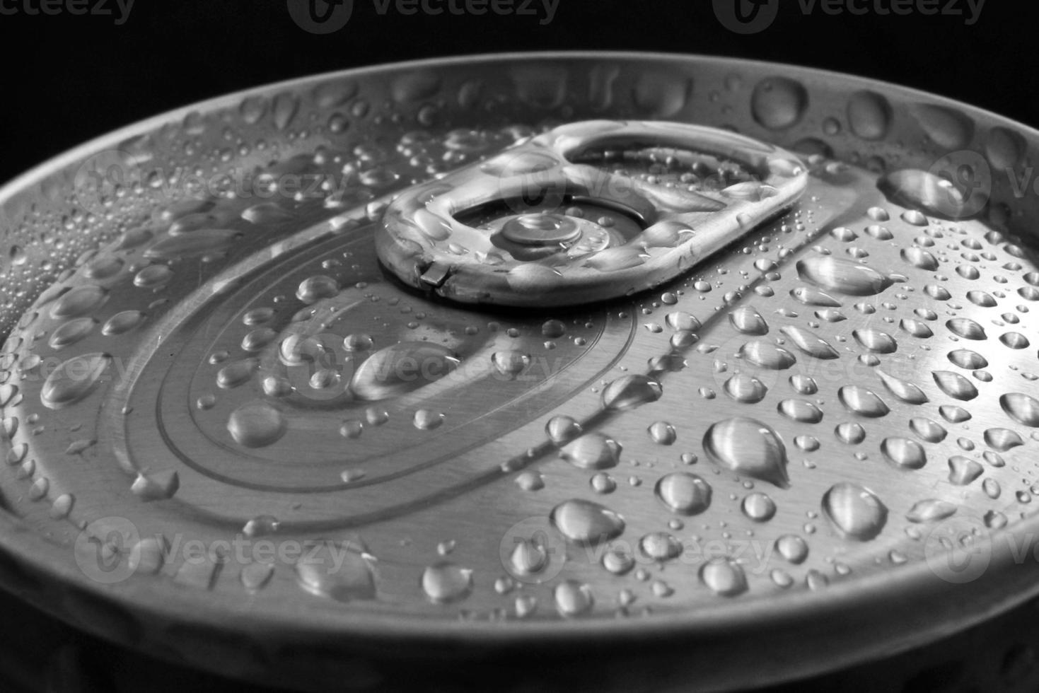 open aluminium blik foto