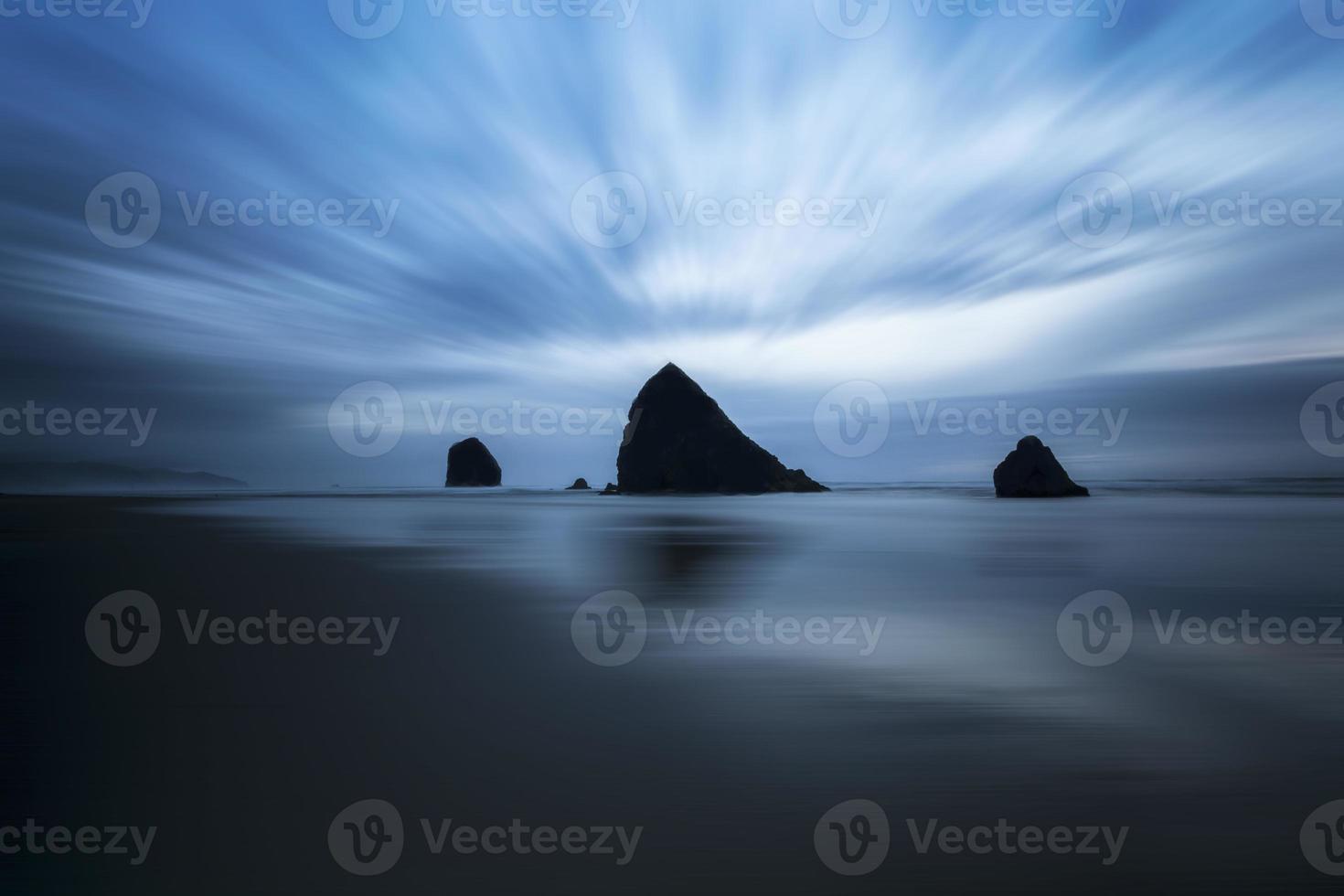 blauwe spoeling foto