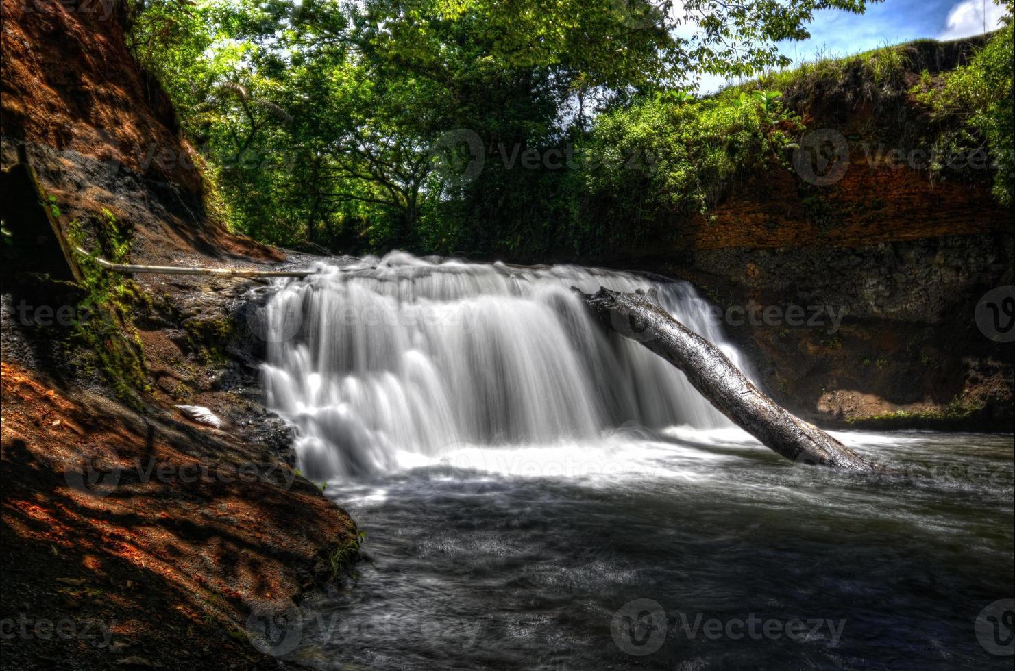 kleine waterval in boquete foto
