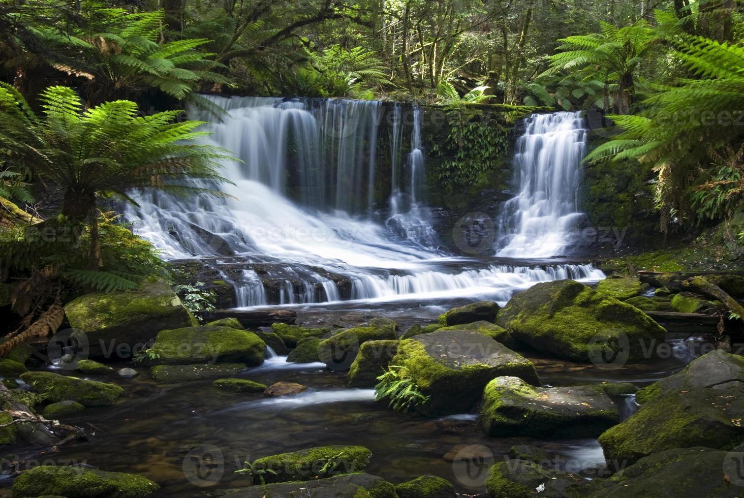 Horseshoe Falls, Mount Field National Park, Tasmanië, Australië foto