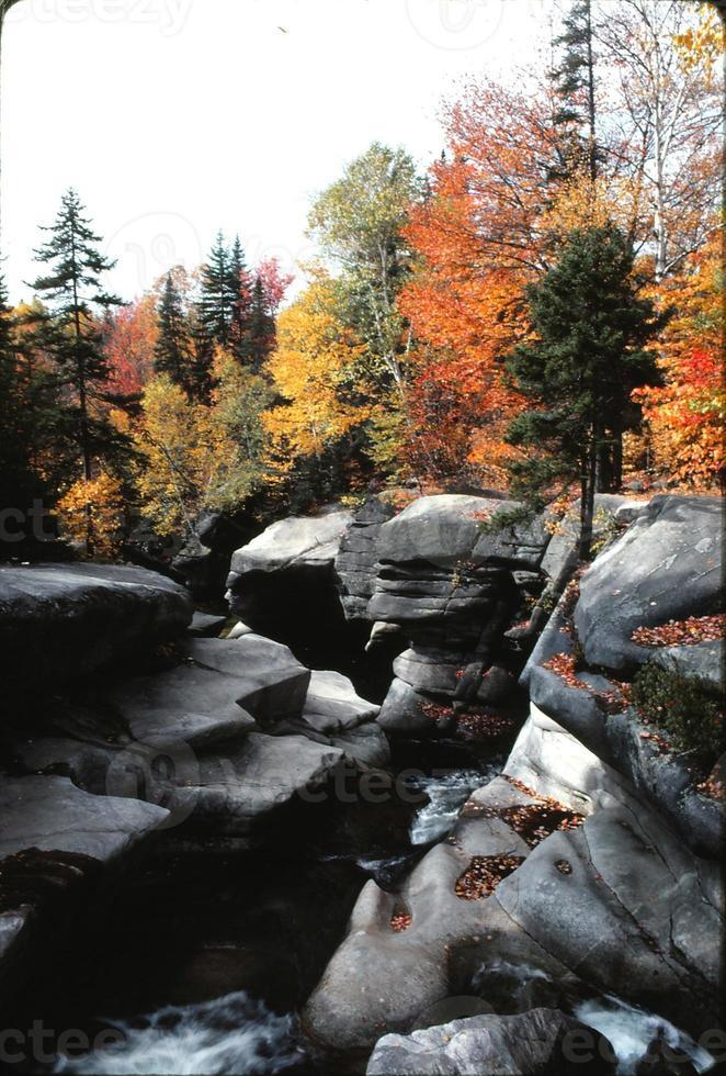 herfst in New Hampshire 1979 foto