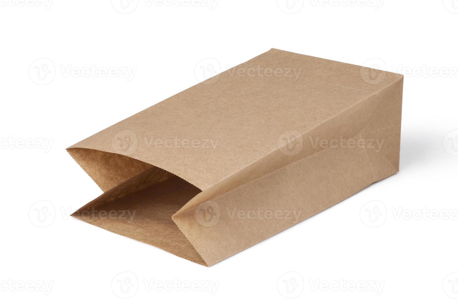 bruine papieren zakken foto