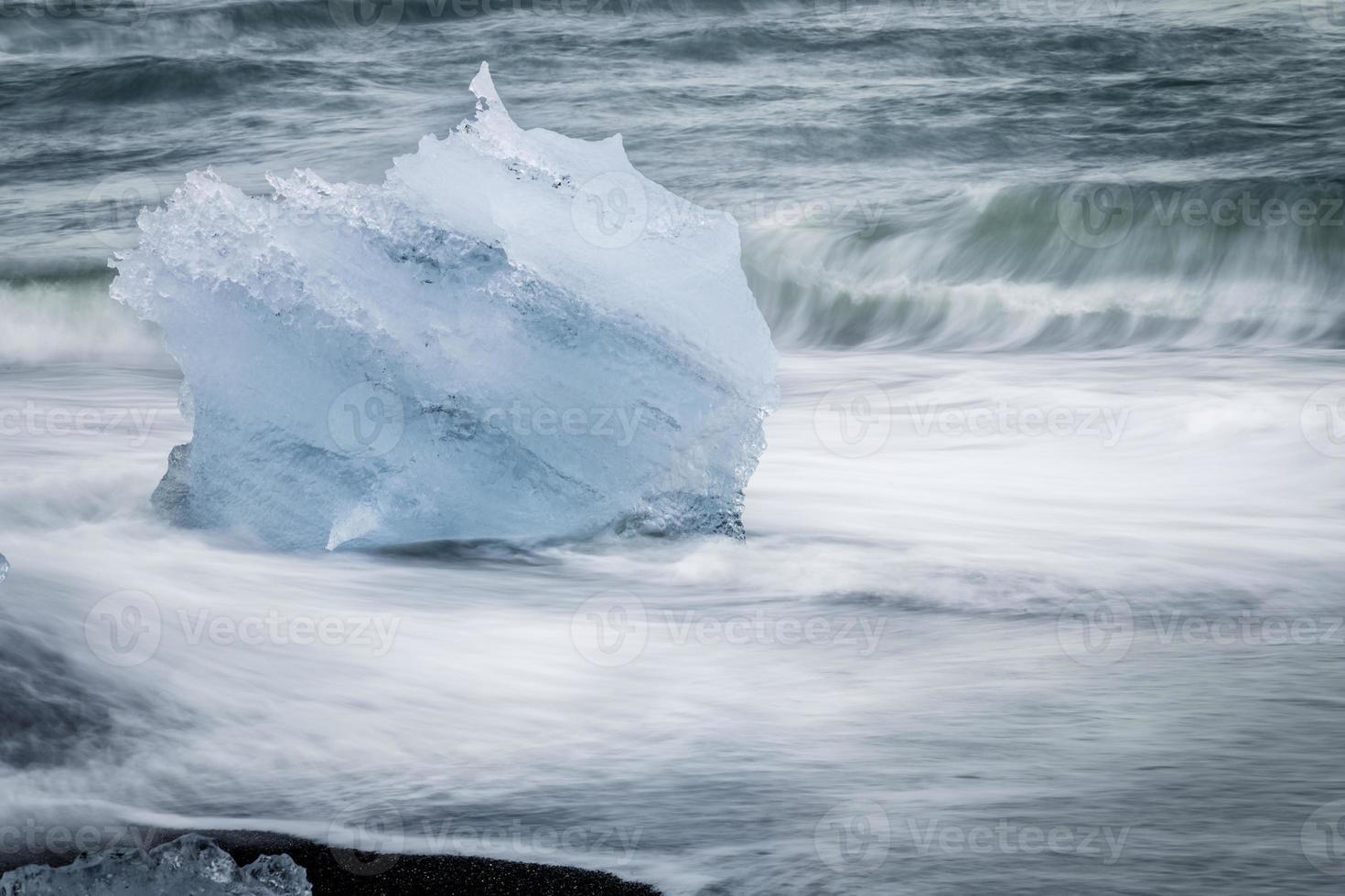 glaciaal ijs foto