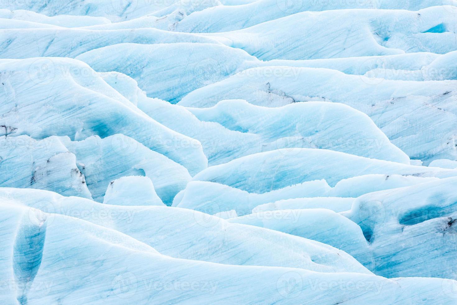 svinafell gletsjer ijsland foto