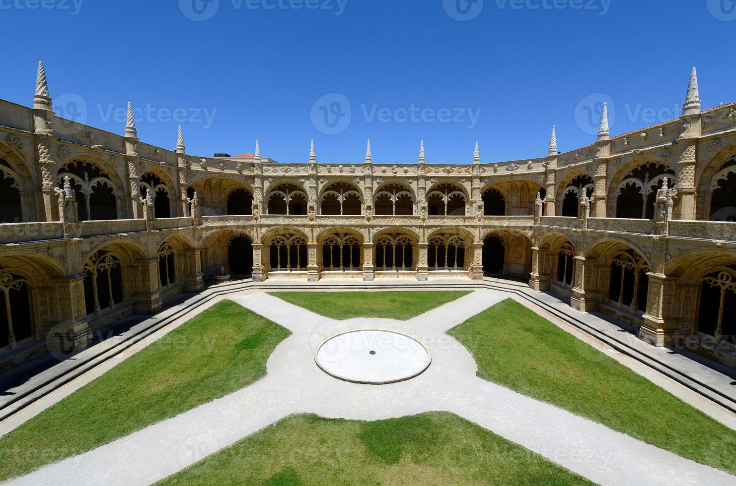 Jeronimos-klooster, Lissabon, Portugal foto
