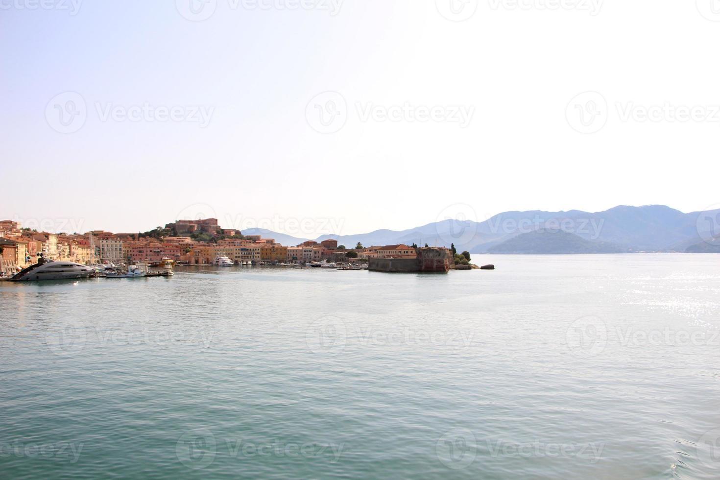 portoferraio - panorama compositie foto