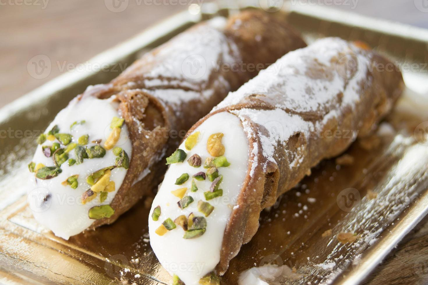 Siciliaanse cannoli foto