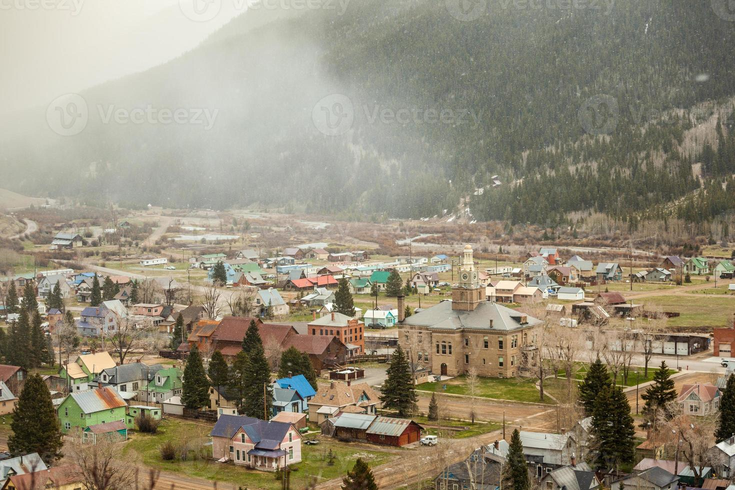Silverton Panorama, Colorado, Verenigde Staten foto