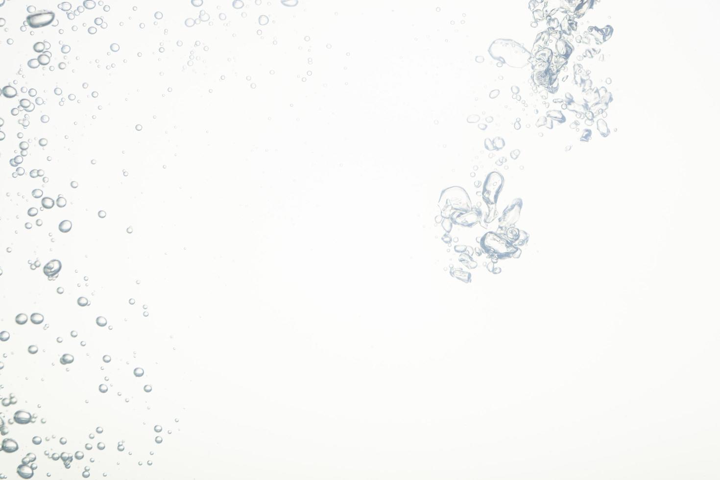 bellen in het water foto